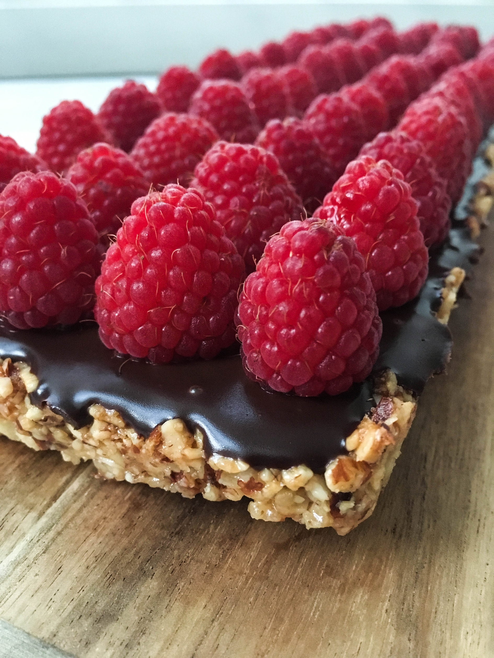 almond crust chocolate tart