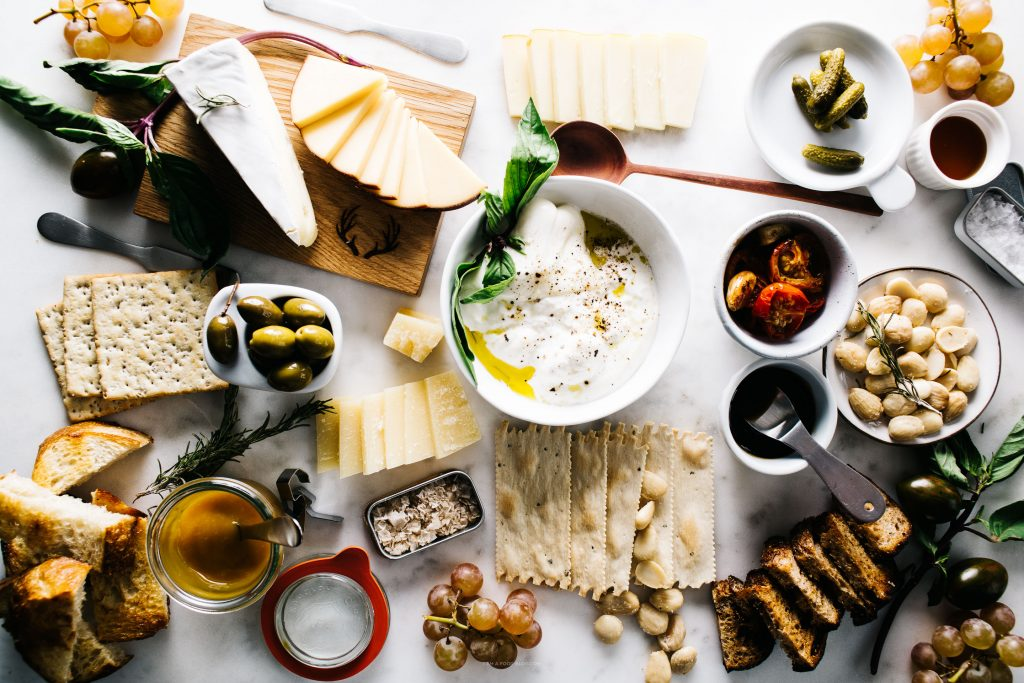 the ultimate cheese plate